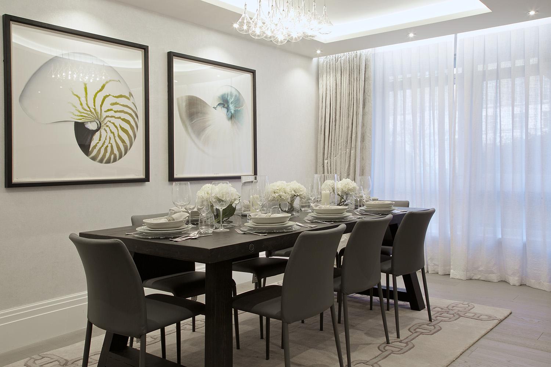 Design Box London - Interior Design - Regent's Park Duplex, NW1 - Dining Room