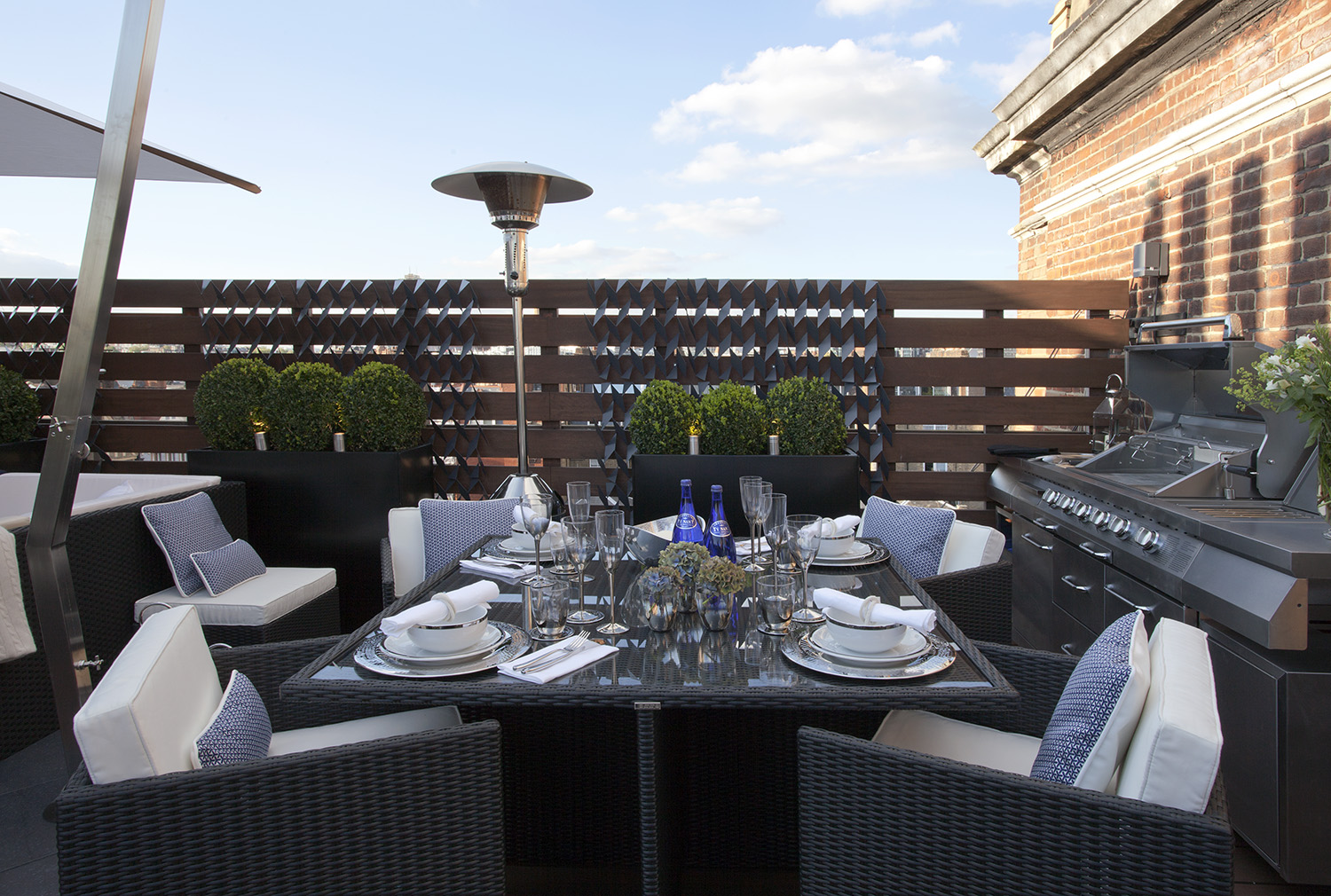 Belgravia roof terrace sw1 design box london luxury