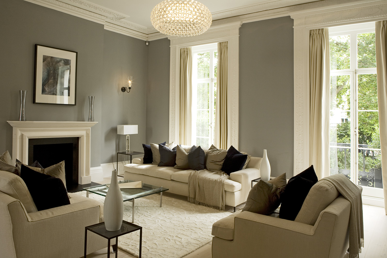 Belgravia townhouse sw1 design box london luxury for Interior decorator london