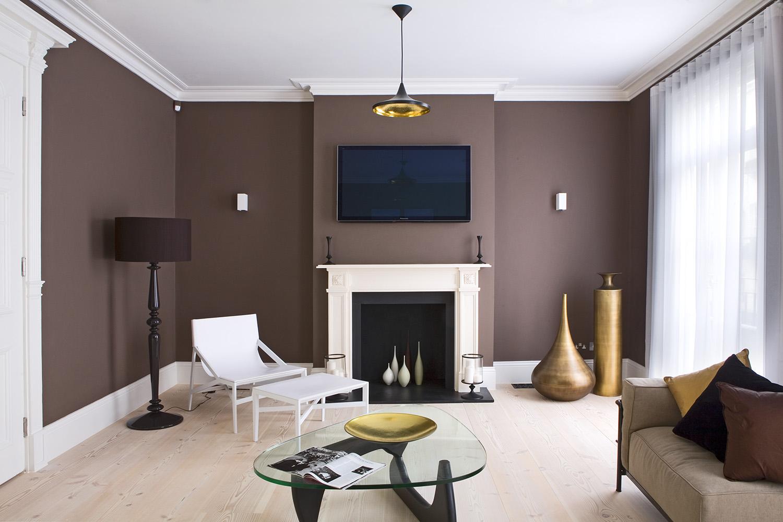 Design Box London - Interior Design - Belgravia Townhouse SW1 - Sitting Room