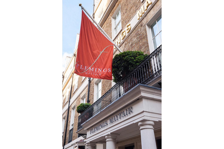 Flemings hotel w1 design box london luxury interior for Box design hotel