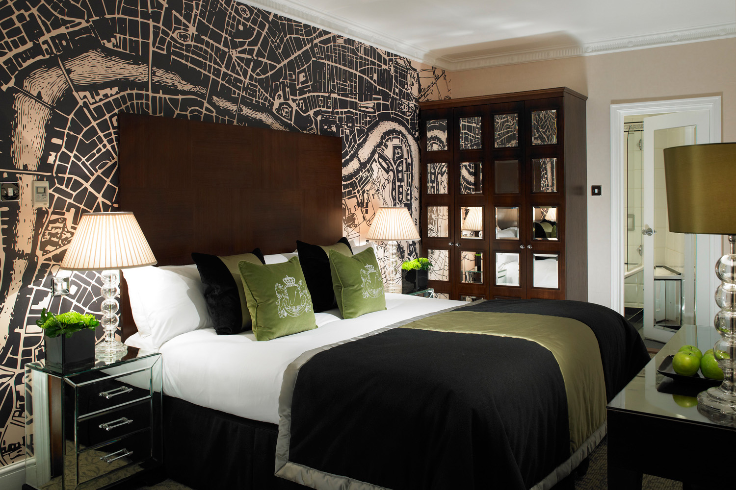 Design Box London - Interior Design - Flemings Hotel W1 - Bedroom