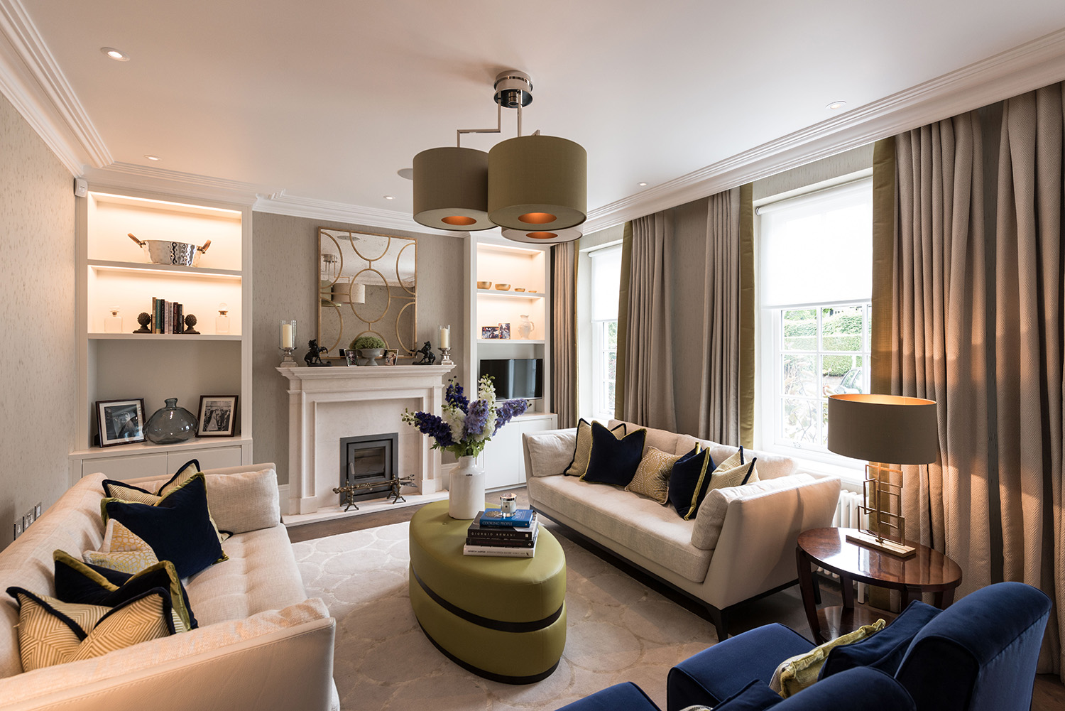 Hampstead family home n6 design box london luxury for Interior design london