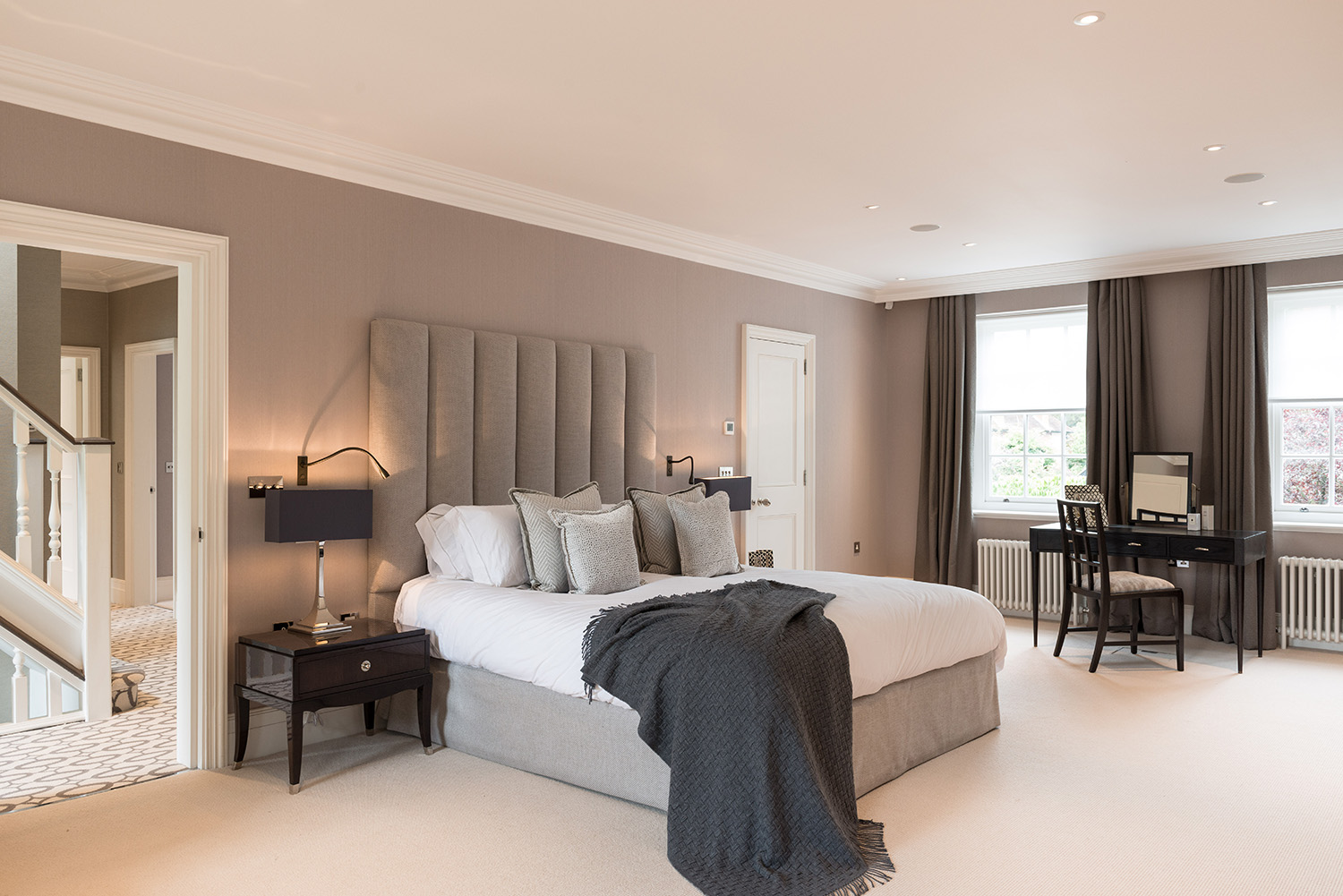 Hampstead family home n6 design box london luxury for Home n decor interior design