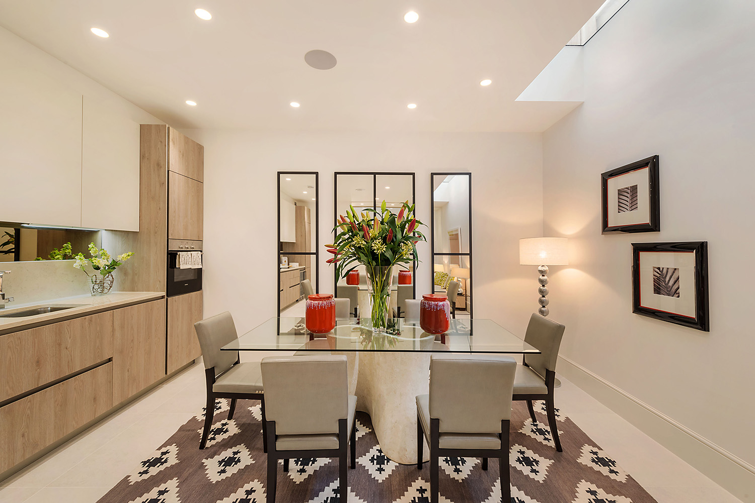 Design Box London - Interior Design - Kensington Mews House W8 - Dining Room