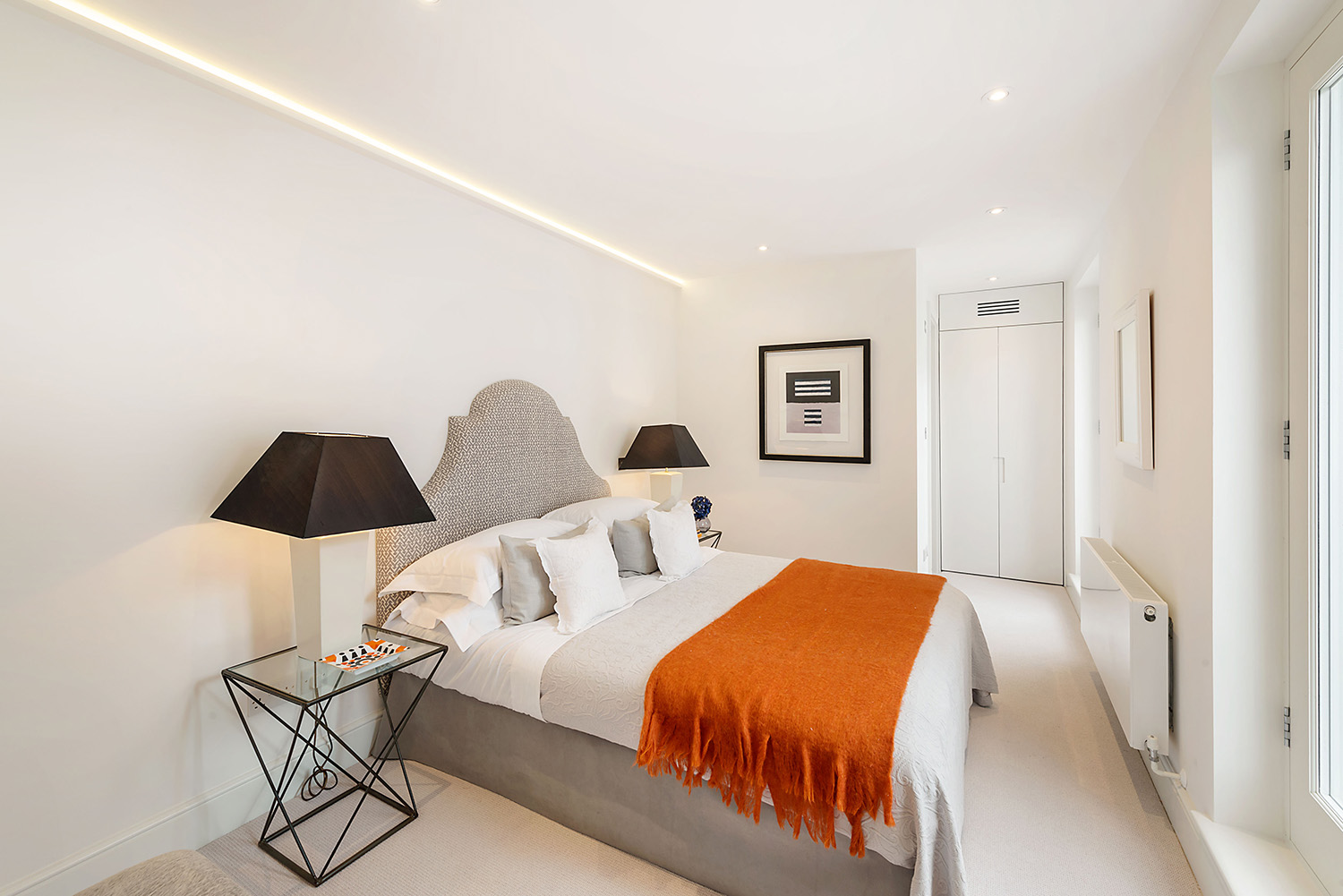 Design Box London - Interior Design - Kensington Mews House W8 - Bedroom