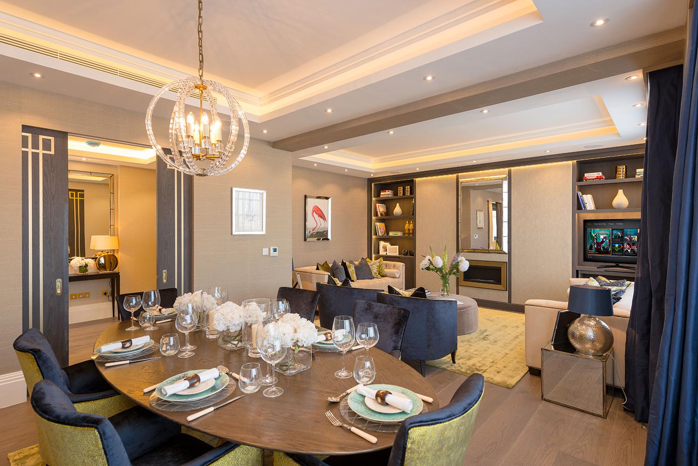 Design Box London - Interior Design - Marylebone Apartment W1 - Dining Room