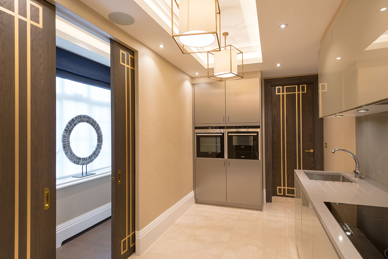 Design Box London - Interior Design - Marylebone Apartment W1 - Kitchen