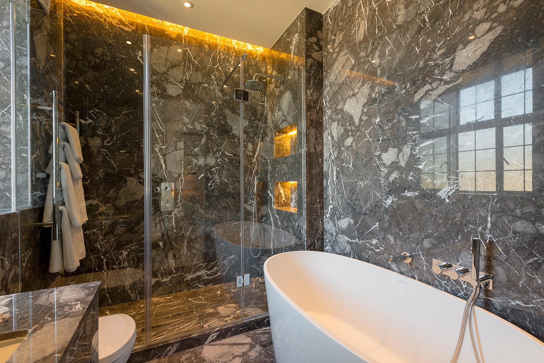 Design Box London - Interior Design - Marylebone Apartment W1 - Bathroom