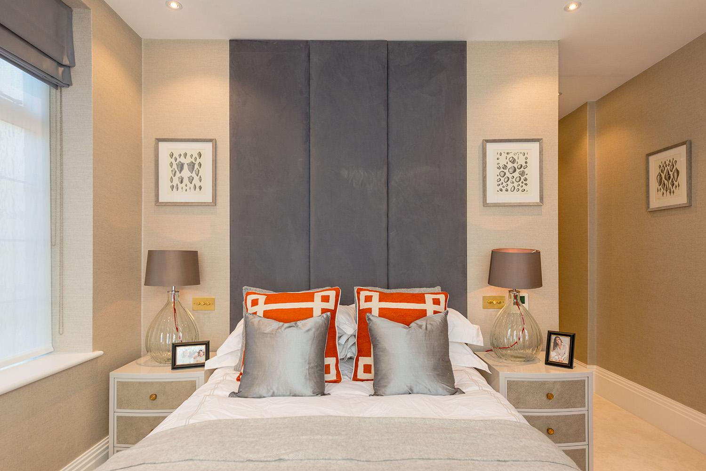 Design Box London - Interior Design - Marylebone Apartment W1 - Bedroom