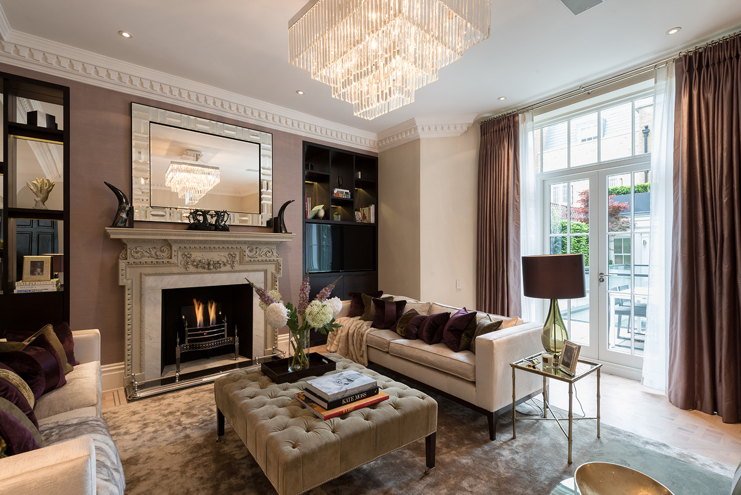 Mayfair family home w1 design box london luxury interior design services - Housing interiors ...