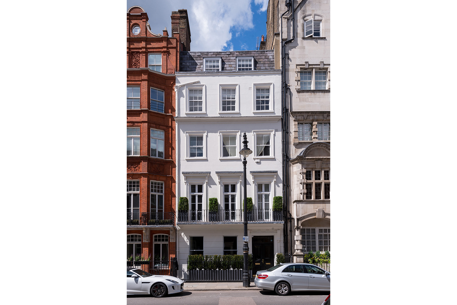 Design Box London - Interior Design - Mayfair Family Home - Exterior