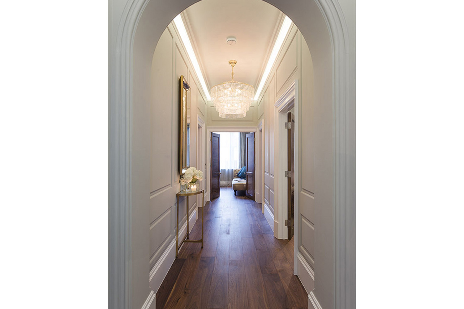 Design Box London - Interior Design - Mayfair Pied à Terre W1 - Hallway