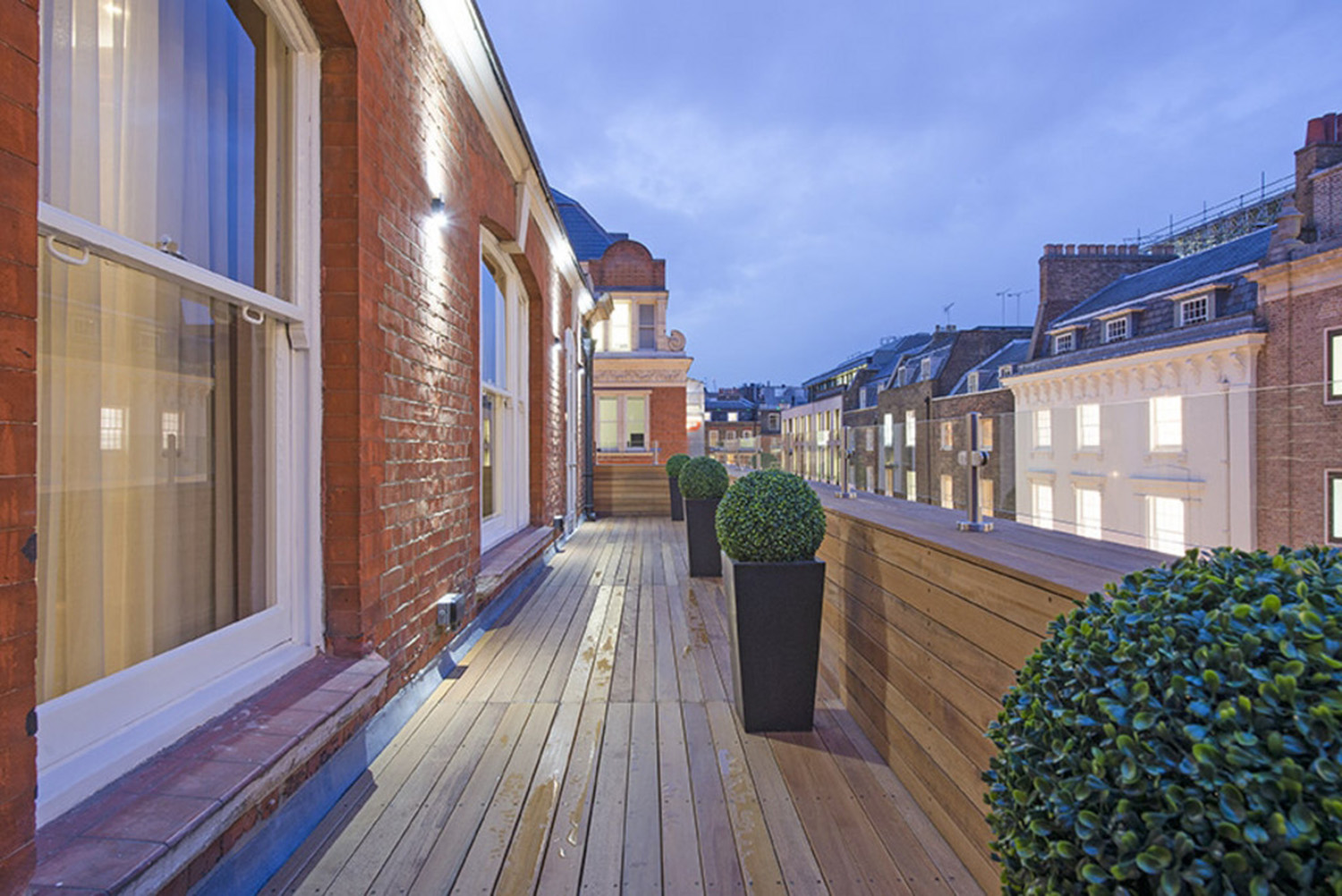 Design Box London - Interior Design - Mayfair Pied à Terre W1 - Roof Terrace