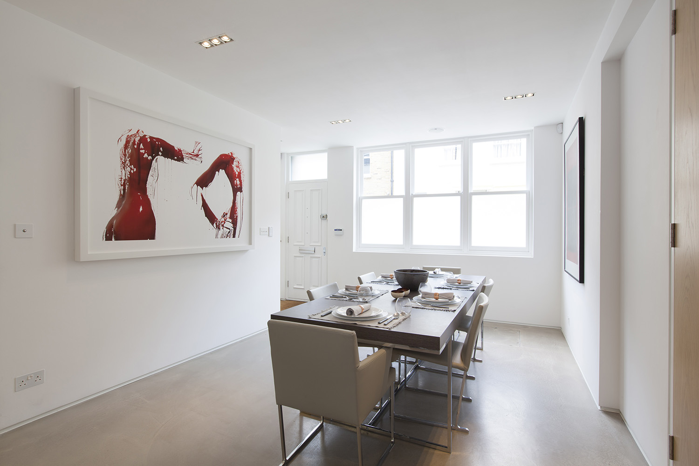 Hyde park mews house w2 design box london luxury for Design services london