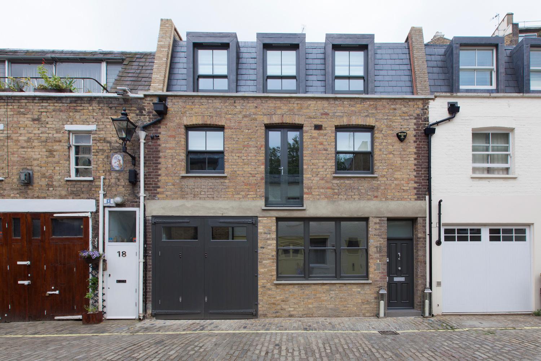 Design Box London - Interior Design - Hyde Park Mews House W2 - Exterior