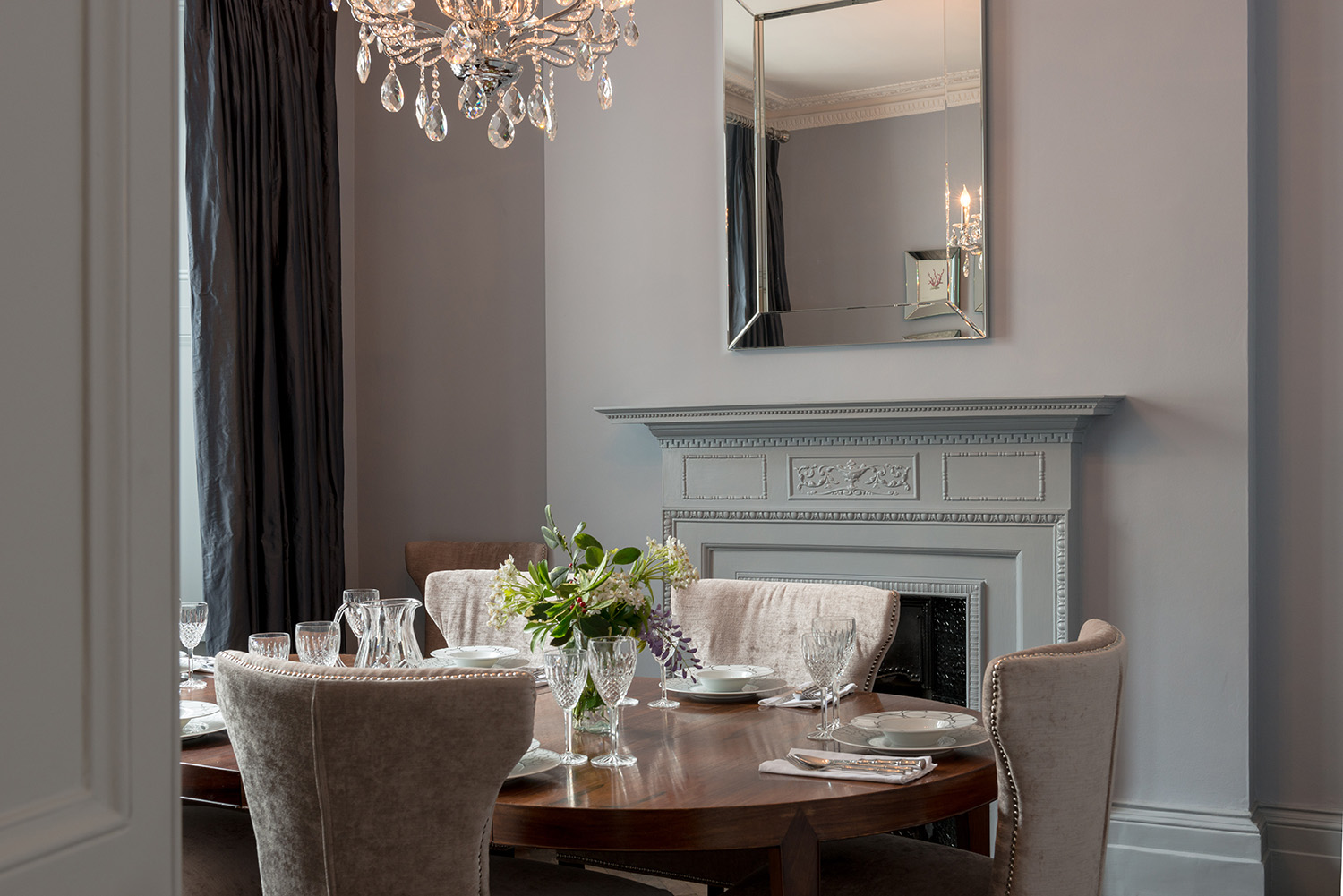 South kensington townhouse sw7 design box london for Interior design south london