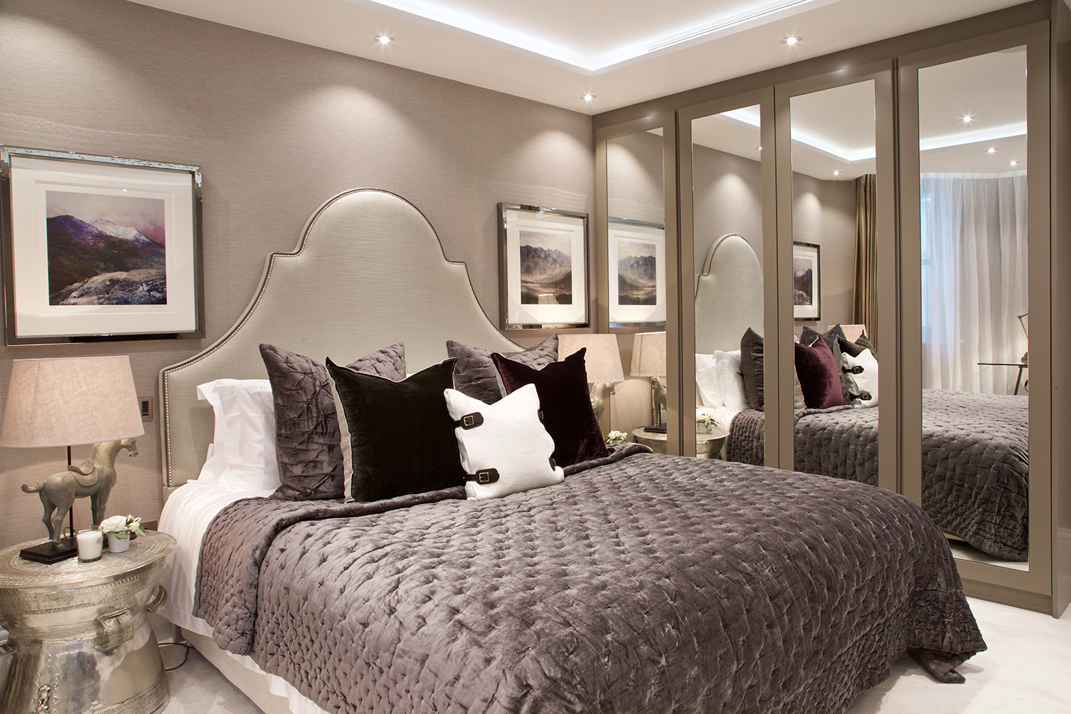 Holland park duplex w11 design box london luxury for Bedroom designs london