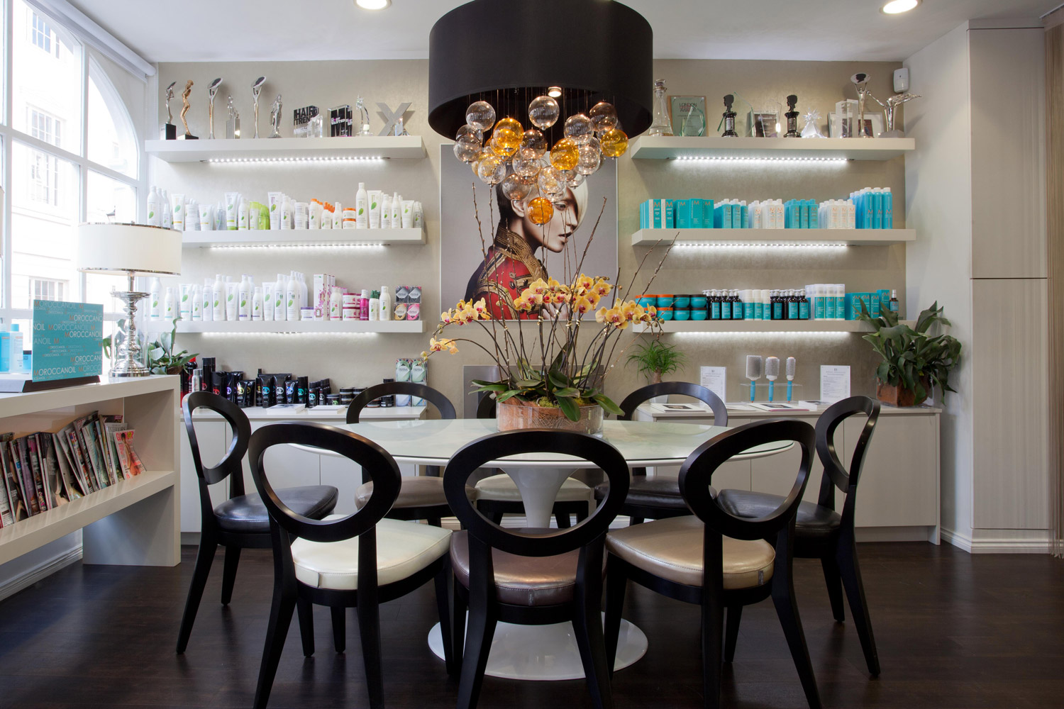Design Box London - Interior Design - Errol Douglas Salon SW1 - Lounge