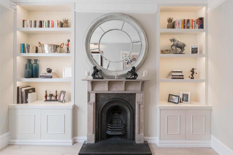 Design Box London - Interior Design - Garratt Lane, Tooting SW17 - Sitting Room Joinery