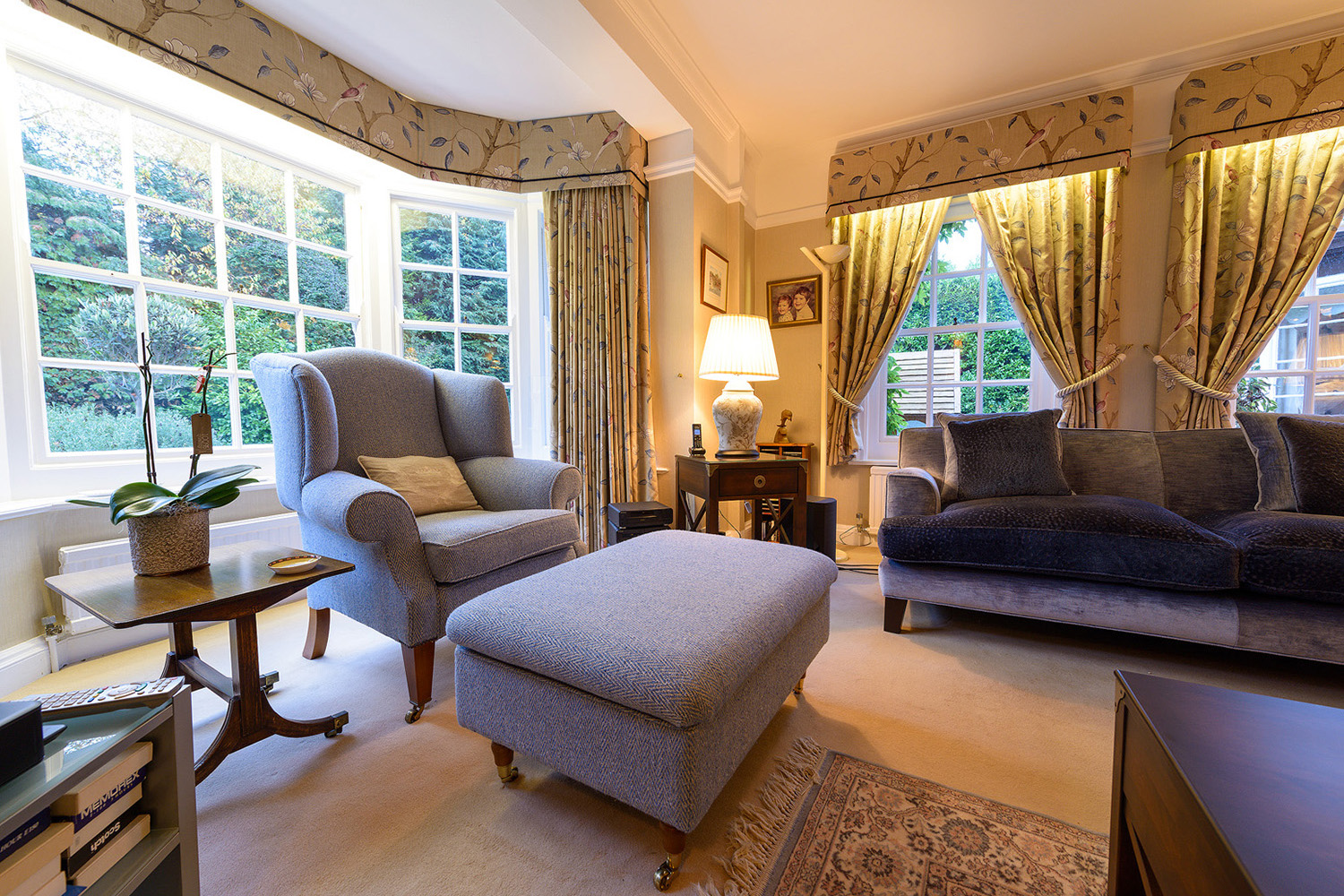 Design Box London - Interior Design - Beaconsfield Country House HP9 - Sitting Room