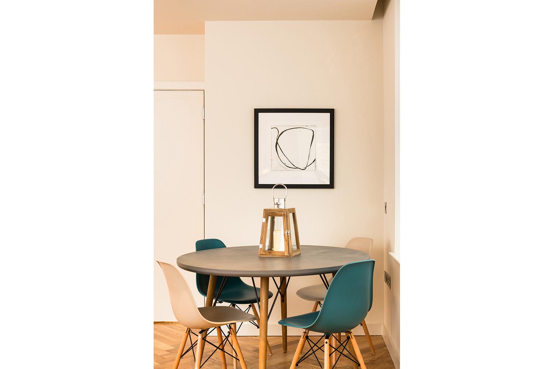 Design Box London - Interior Design - Camden Loft 1 - Dining Room Table