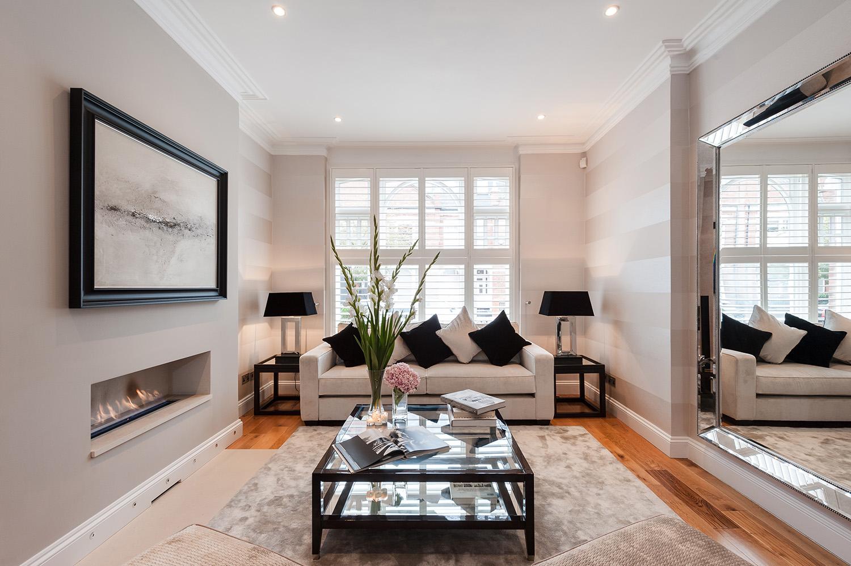 Design Box London - Interior Design - Fulham House, SW6 - Living Room
