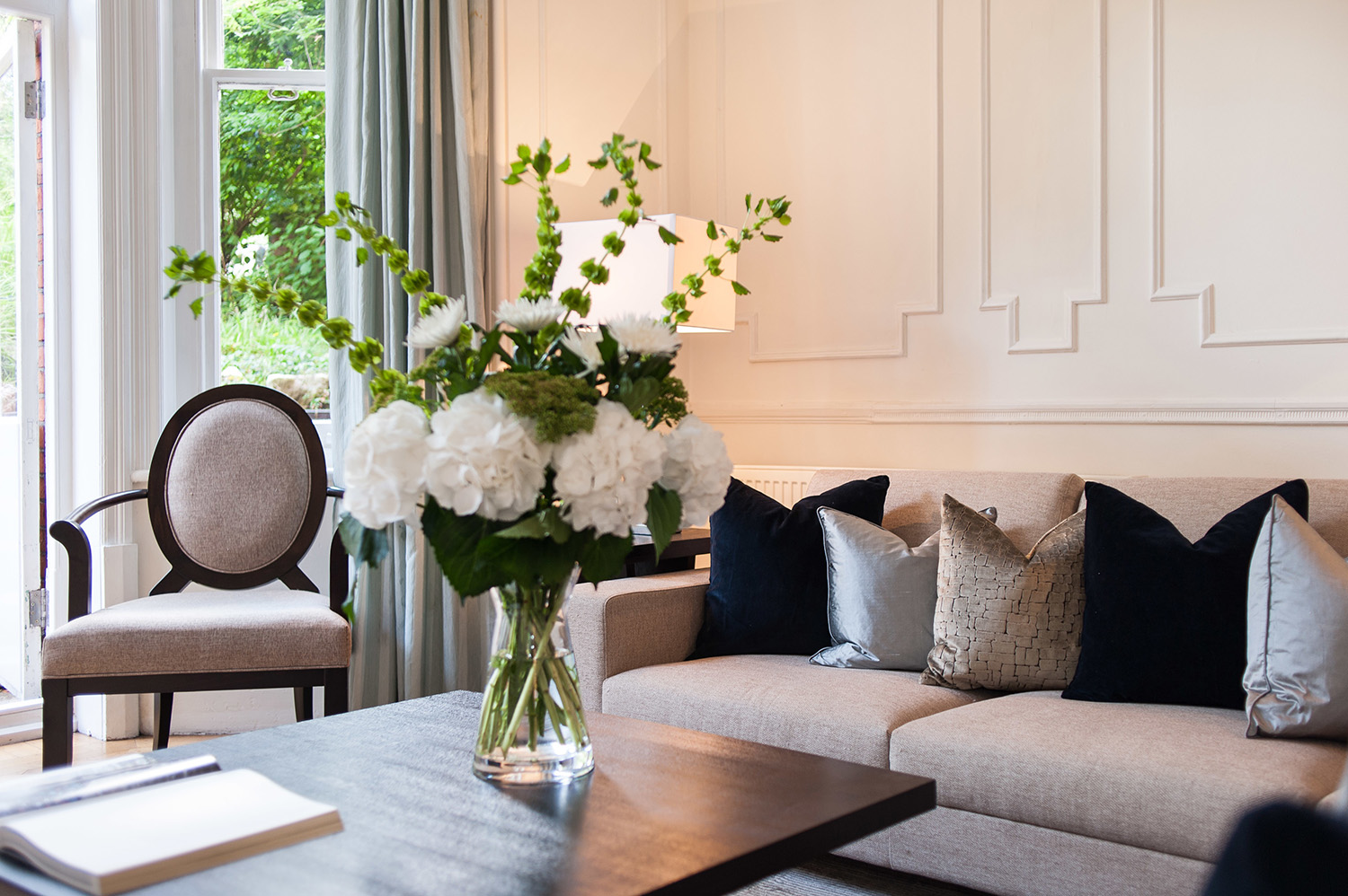 Design Box London - Interior Design - Hampstead Pied A Terre, NW3 - Living Room