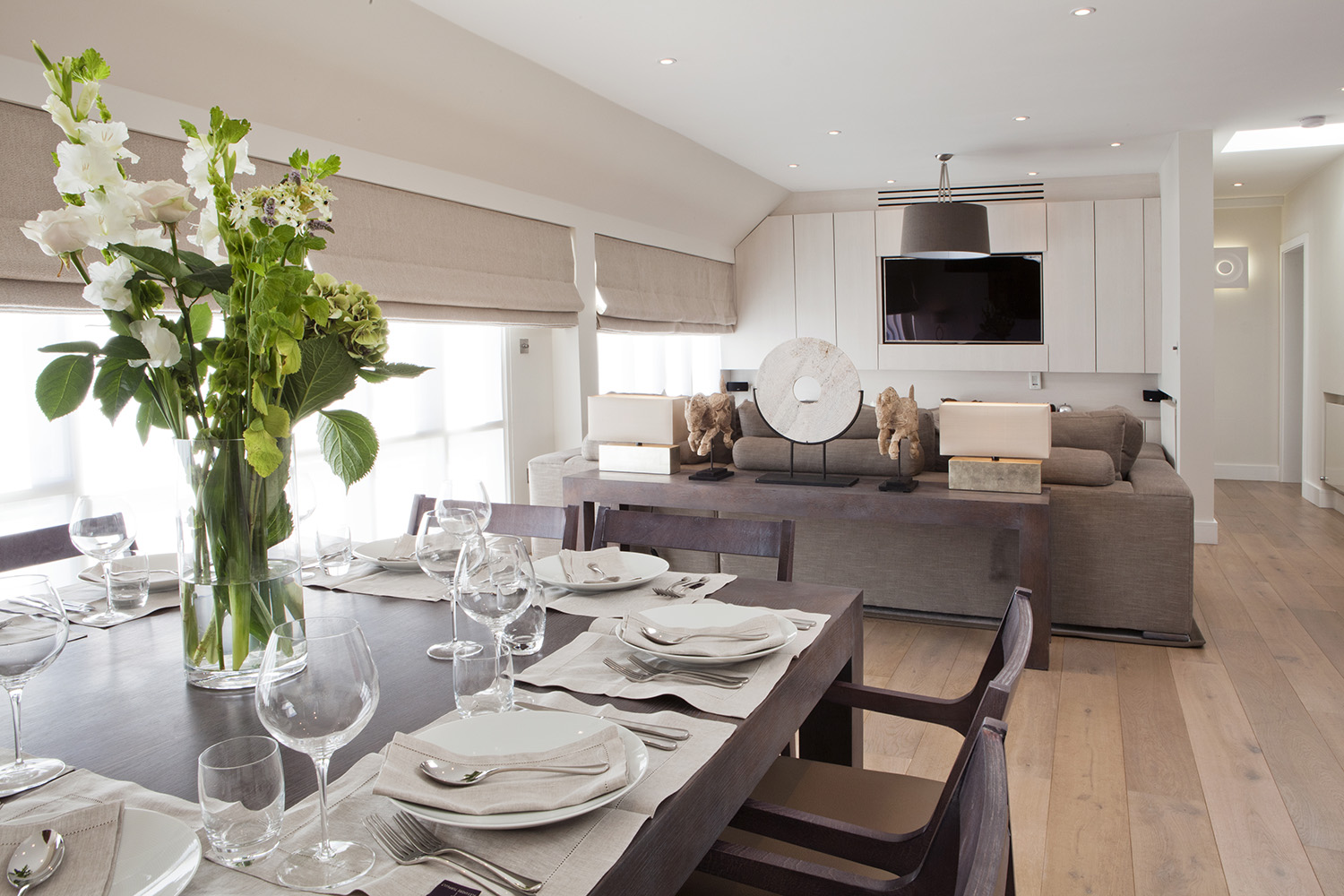 Design Box London - Interior Design - Marble Arch Penthouse, W1 - Dining Room