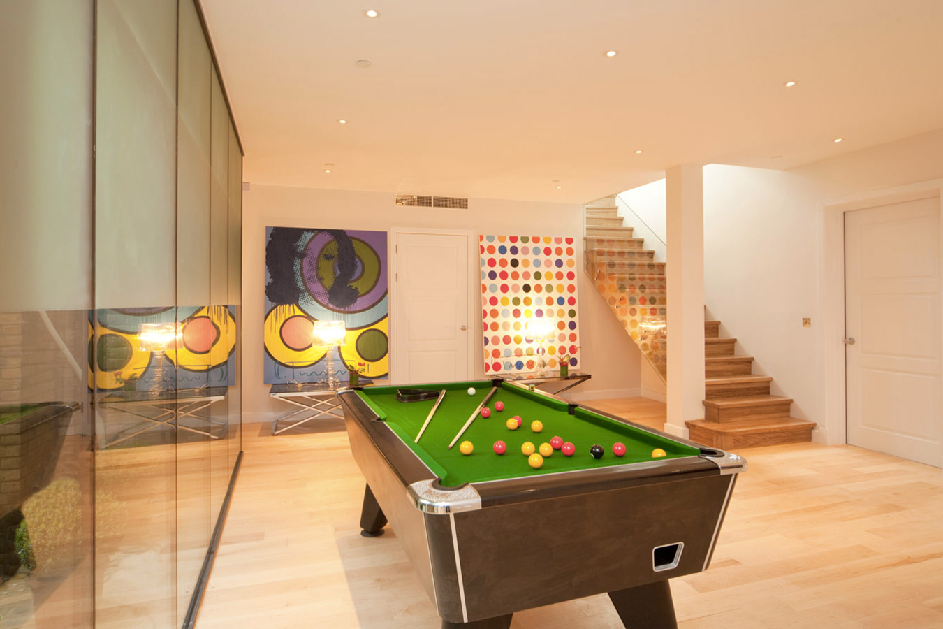 Design Box London - Interior Design - Richmond Park Home, TW10 - Games Room