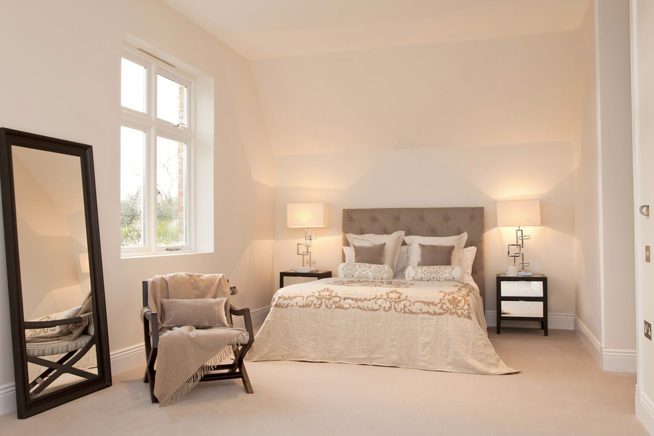 Design Box London - Interior Design - Richmond Park Home, TW10 - Bedroom