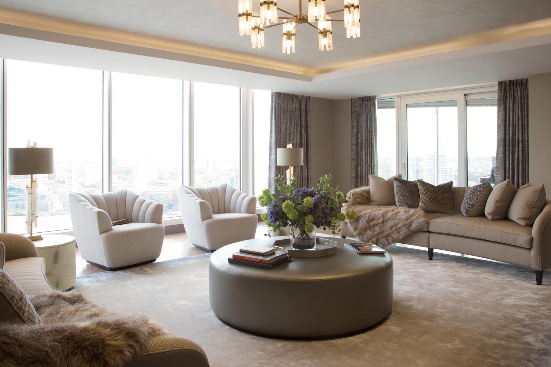 Design Box London - Interior Design - Chelsea Creek penthouse, SW6 - Living Room