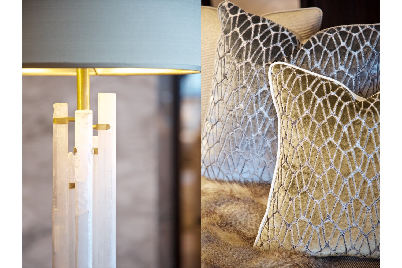 Design Box London - Interior Design - Chelsea Creek penthouse, SW6 - Lamps & Cushions