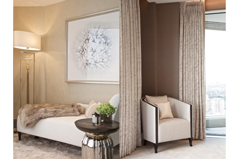 Design Box London - Interior Design - Chelsea Creek penthouse, SW6 - Chaise Longue
