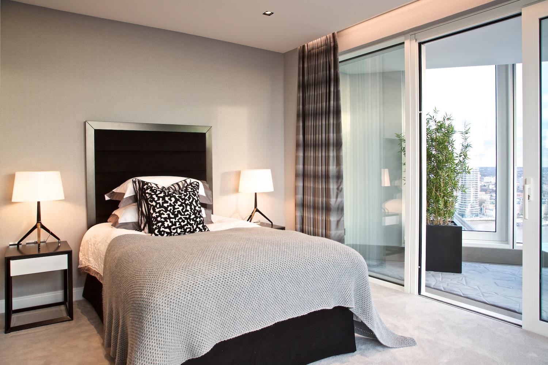 Design Box London - Interior Design - Chelsea Creek penthouse, SW6 - Bedroom