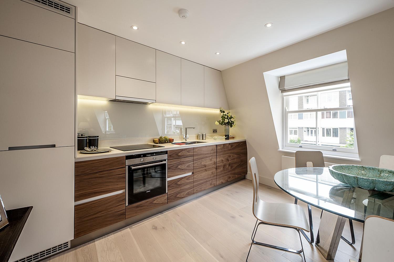 Design Box London - Interior Design - Notting Hill Development W11 - Kitchen