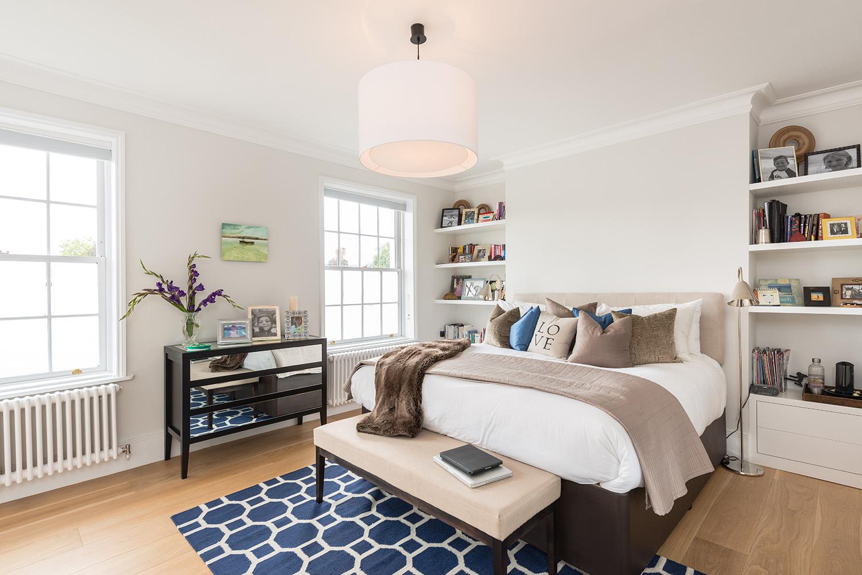 Design Box London - Interior Design - Hampstead Heath Family Home NW3 - Master Bedroom
