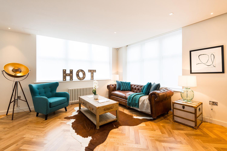 Design Box London - Interior Design - Camden Loft 1 - Sitting Room
