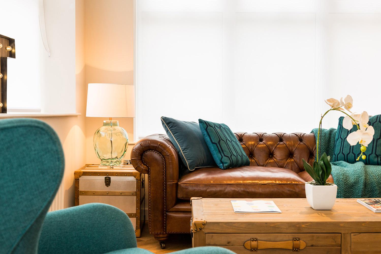 Design Box London - Interior Design - Camden Loft 1 - Sitting Room Close Up