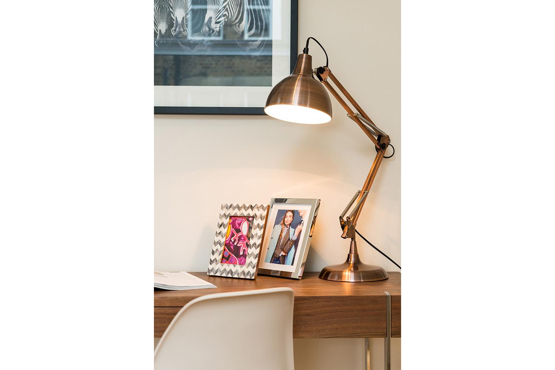 Design Box London - Interior Design - Camden Loft 1 - Lamp Close Up