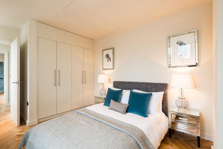 Design Box London - Interior Design - Camden Loft 1 - Master Bedroom