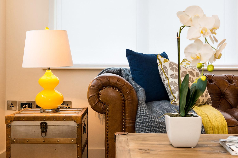 Design Box London - Interior Design - Camden Loft 2 - Sitting Room Sofa