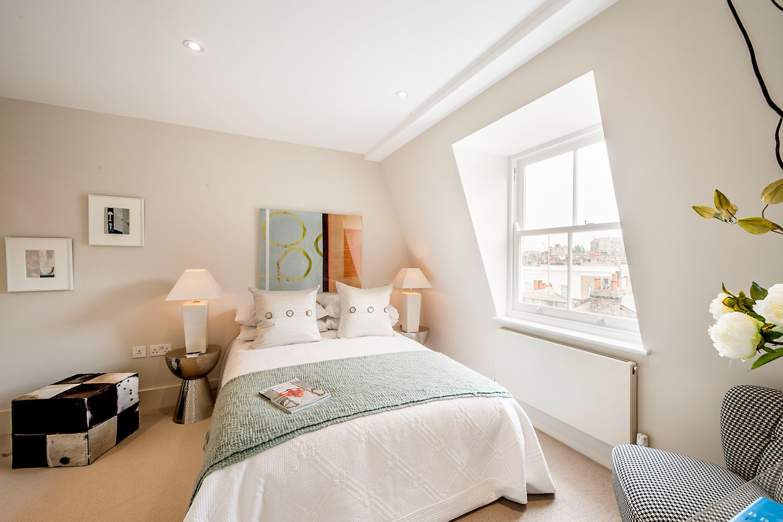 Design Box London - Interior Design - Notting Hill Development W11 - Bedroom