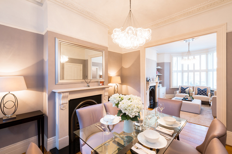 Design Box London - Interior Design - Battersea Townhouse, SW11 - Dining Room