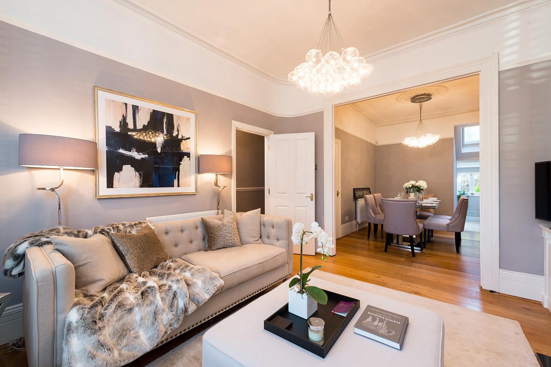 Design Box London - Interior Design - Battersea Townhouse, SW11 - Living Room