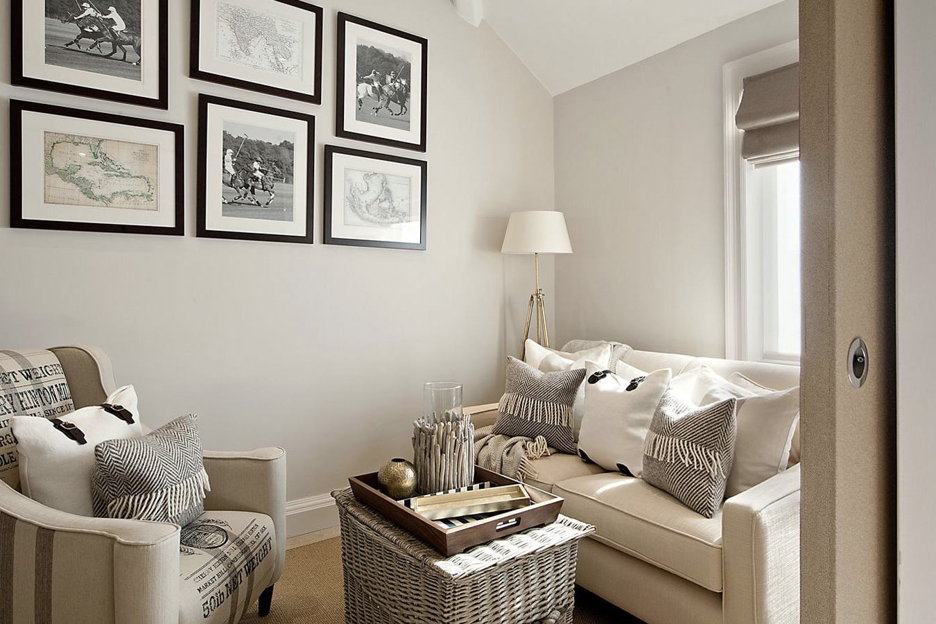 Design Box London - Interior Design - Chelsea Studio, SW3 - Sitting Room