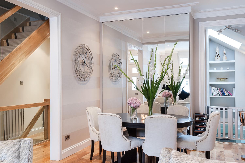 Design Box London - Interior Design - Fulham House, SW6 - Dining Room