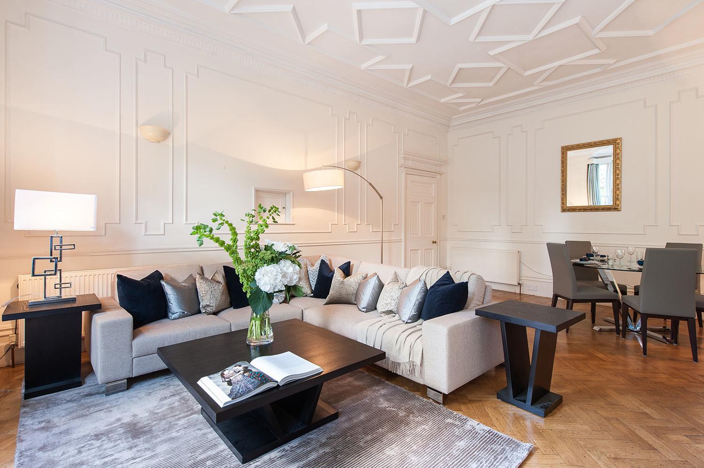 Design Box London - Interior Design - Hampstead Pied A Terre, NW3 - Living Room