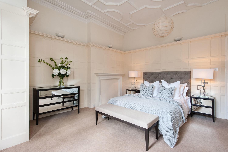 Design Box London - Interior Design - Hampstead Pied A Terre, NW3 - Bedroom