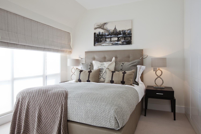 Design Box London - Interior Design - Marble Arch Penthouse, W1 - Bedroom